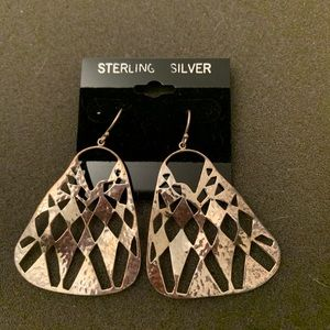 Brand new Silpada sterling silver earrings
